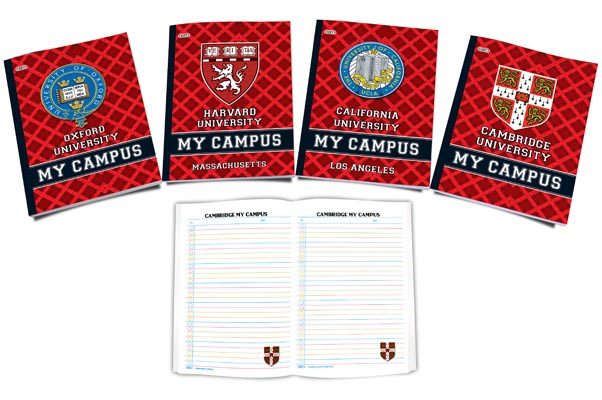 BX Note Books-My Campus
