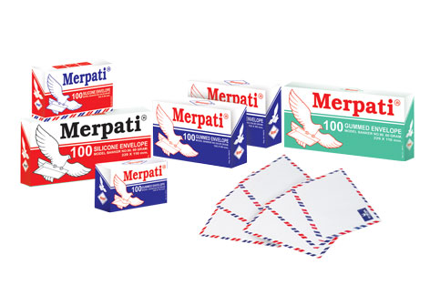 Merpati Envelopes