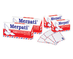 Merpati Silicone Envelopes
